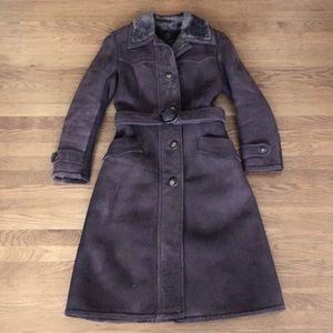 Vintage shearling coat